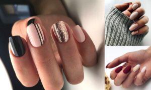 Czarne paznokcie ze złotym – czy to dobry pomysł?