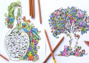 Kolorowanie dla dorosłych oraz jego zalety