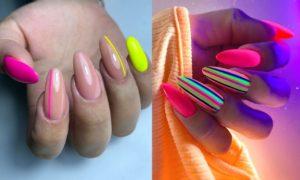 Jak manicure na lato, to tylko paznokcie neonowe