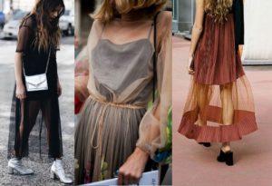 W jaki sposób nosić prześwitujące sukienki?
